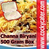Channa Biryani (Box)